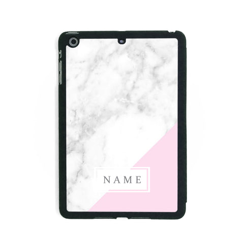 Hotter Pink Marble - iPad Smart Case - Ai Printing