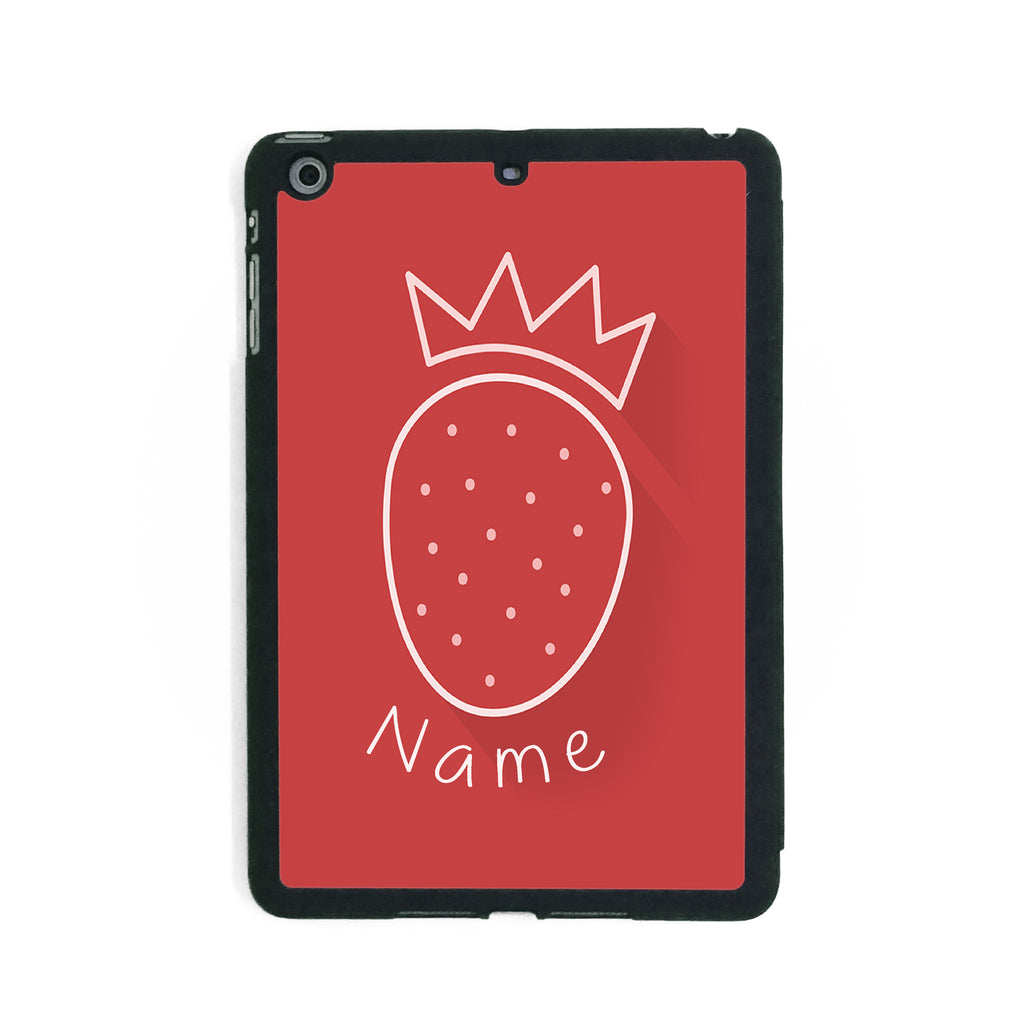 Strawberry Crown - iPad Smart Case - Ai Printing