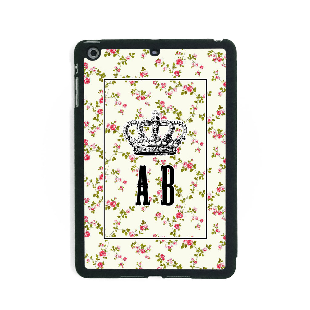 Little Pink Roses Crown - iPad Smart Case - Ai Printing