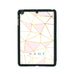 Geometric Pink & Gold - iPad Smart Case - Ai Printing