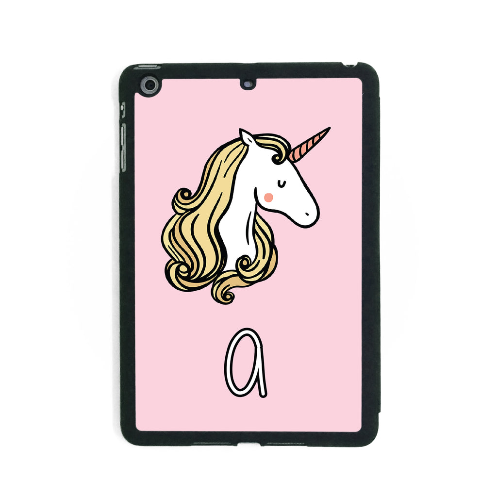 Pink Unicorn - iPad Smart Case - Ai Printing