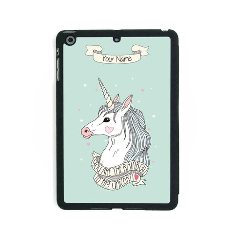 Green Unicorn - iPad Smart Case - Ai Printing