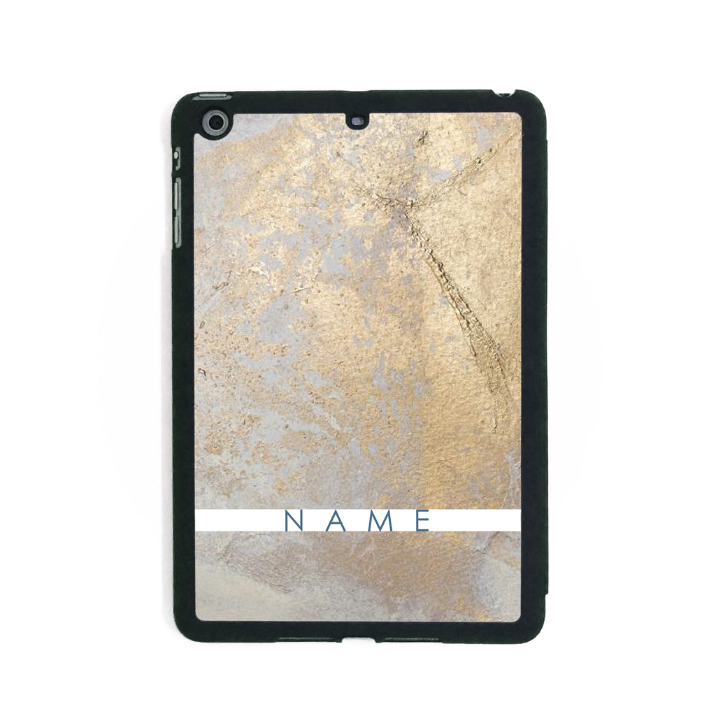 Gold Paint - iPad Smart Case - Ai Printing