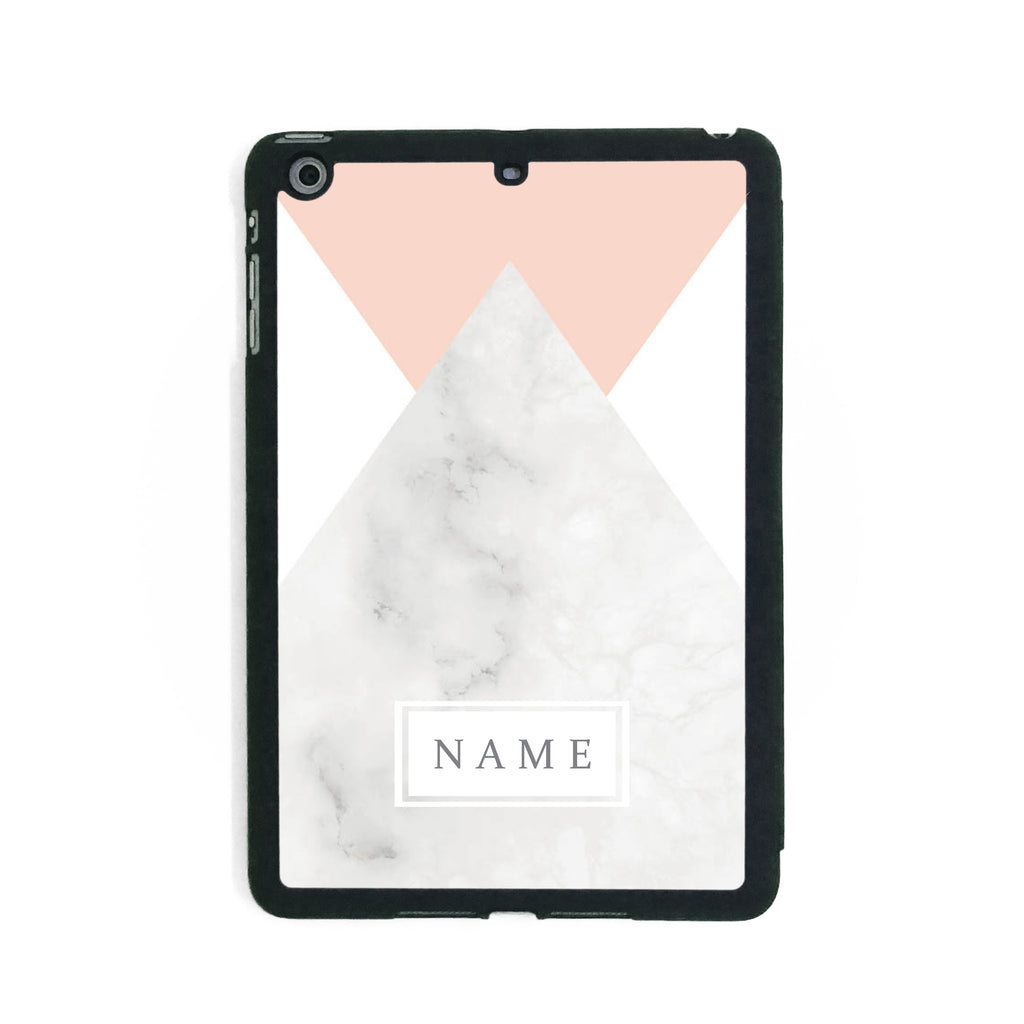 Pink Marble - iPad Smart Case - Ai Printing