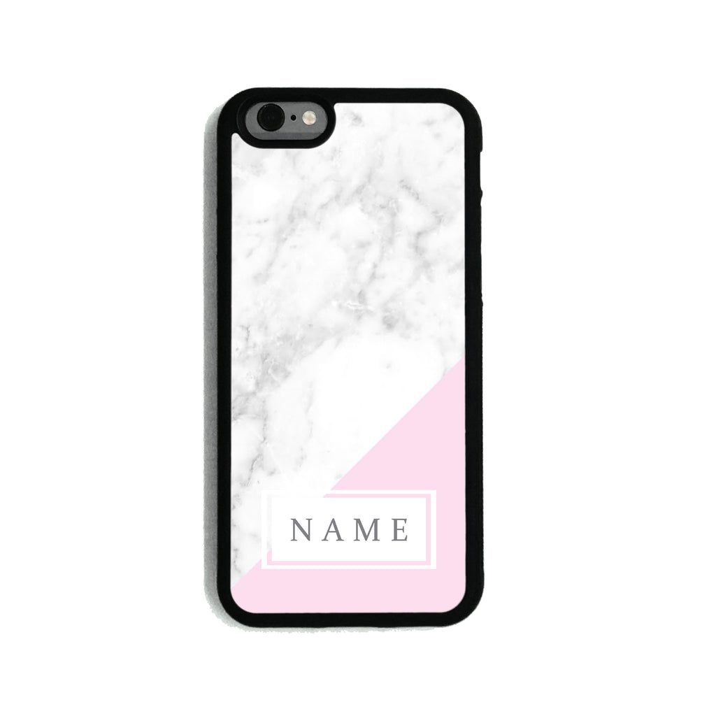 Hotter Pink Marble - 2D Clip Case - Ai Printing