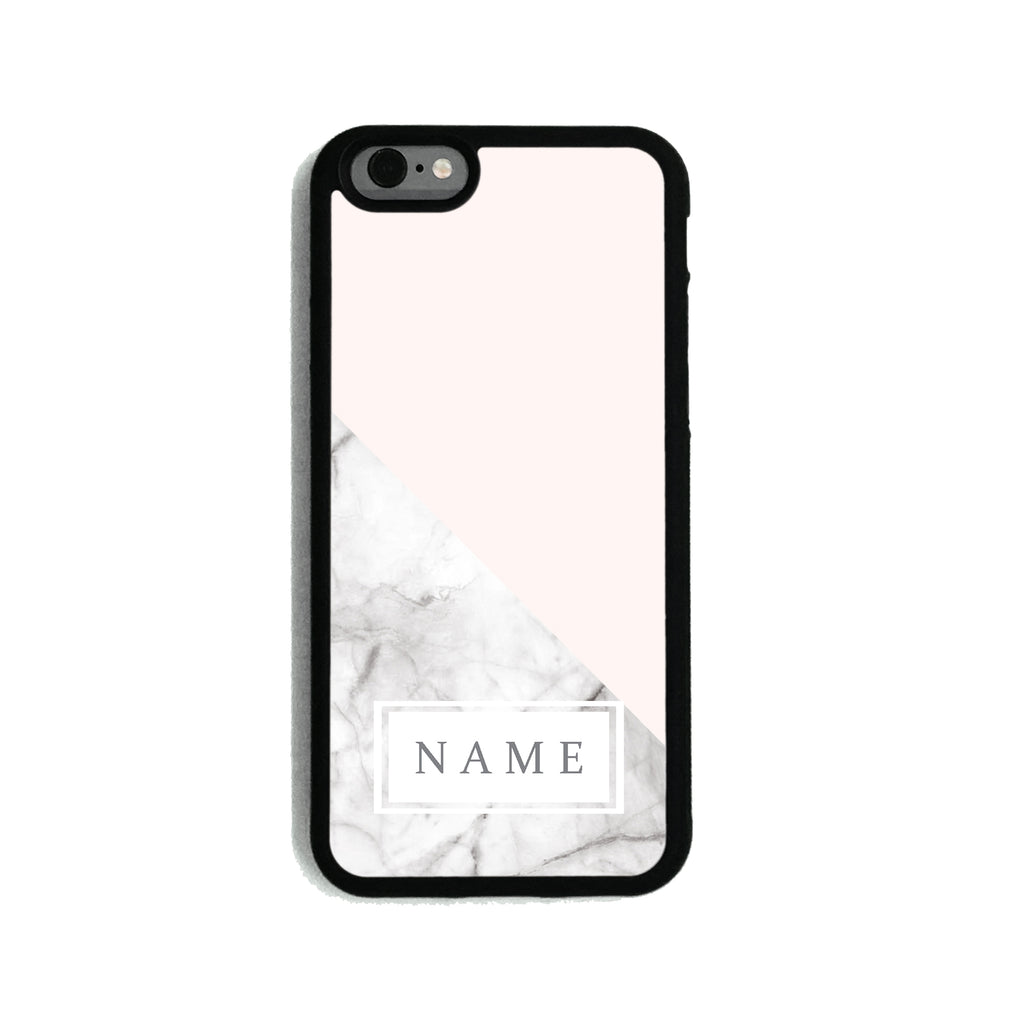 Baby Pink Marble   - 2D Clip Case - Ai Printing