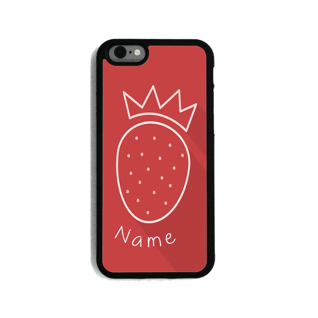 Strawberry Crown - 2D Clip Case - Ai Printing