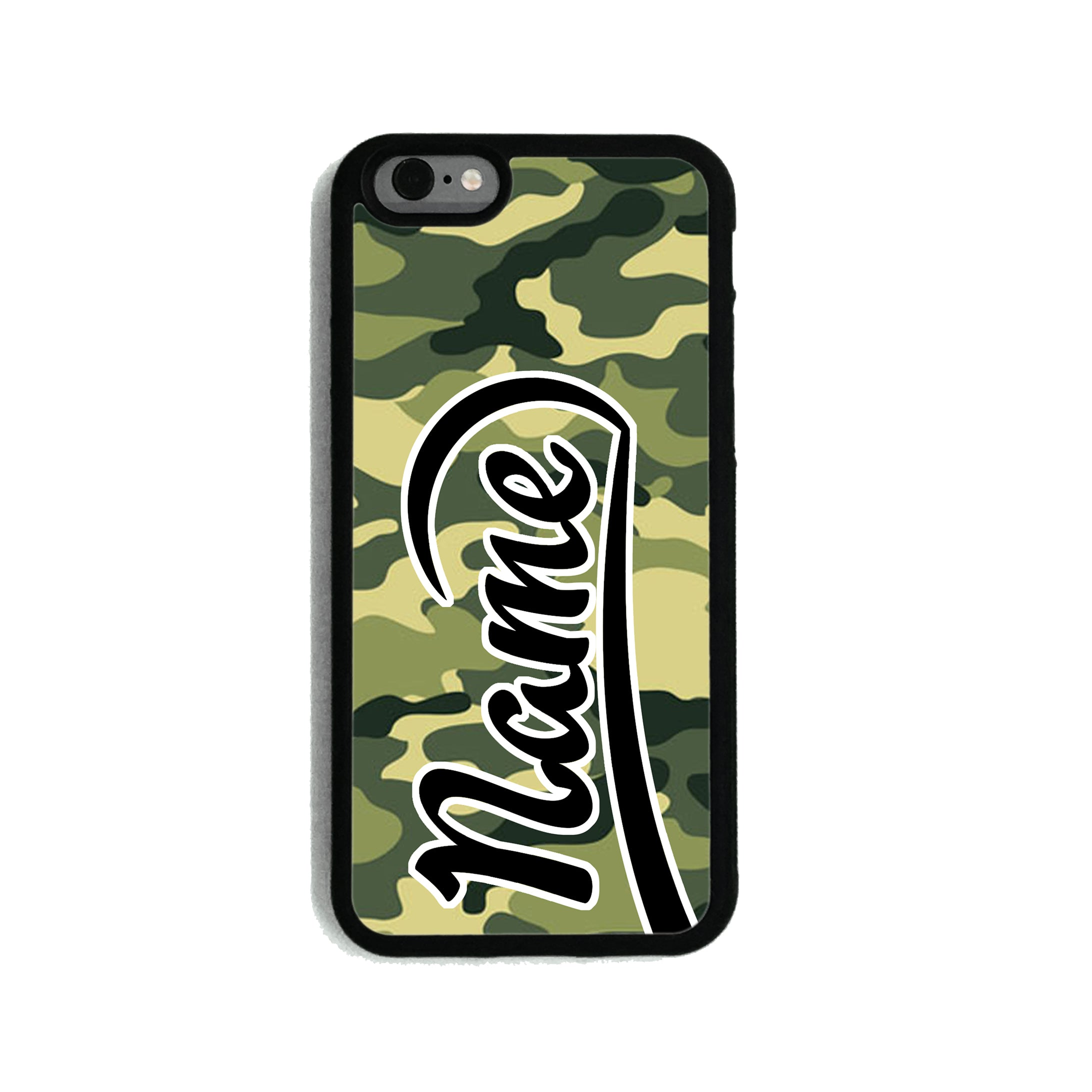 fe8c40886a4 Green Camouflage Print - 2D Clip Case - Ai Printing