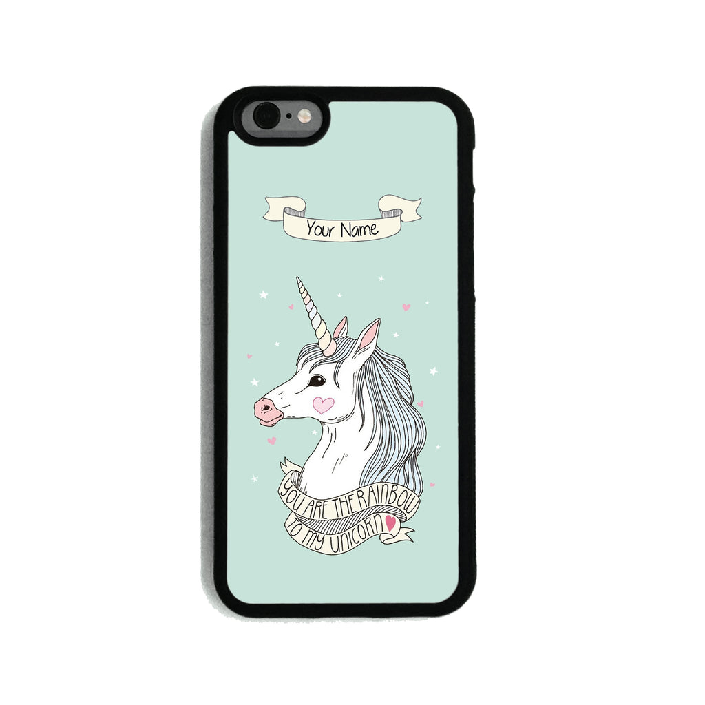 Green Unicorn   - 2D Clip Case - Ai Printing