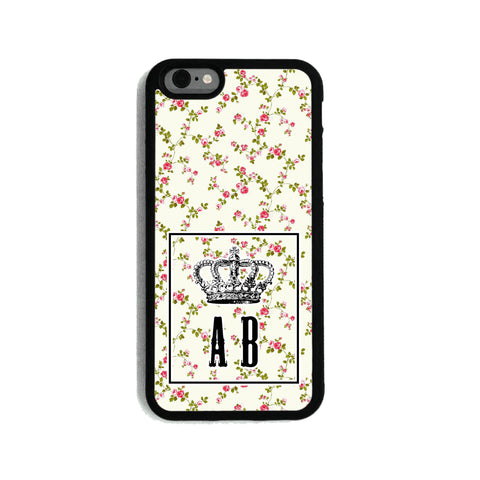 Little Pink Rose Crown - 2D Clip Case - Ai Printing