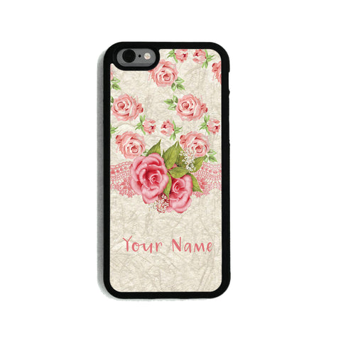 Pink Rose Ribbon - 2D Clip Case - Ai Printing