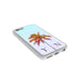 Light Blue Sky & Orange Palm Tree - 2D Clip Case - Ai Printing