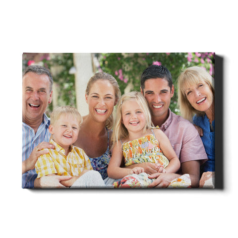 Personalised Photo Canvas - Ai Printing