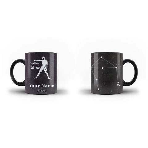 Zodiac Libra - Personalised Mug - Magic - Ai Printing