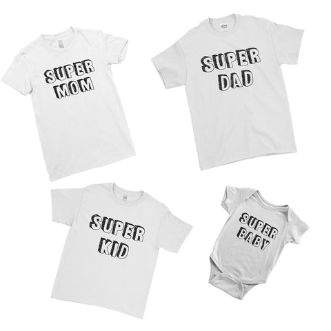 Super Family T-Shirts - Father's Day Special