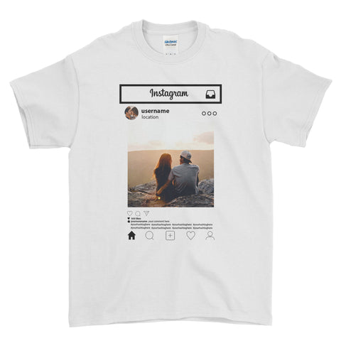 For Insta Lovers - T-shirt - Mens - Ai Printing