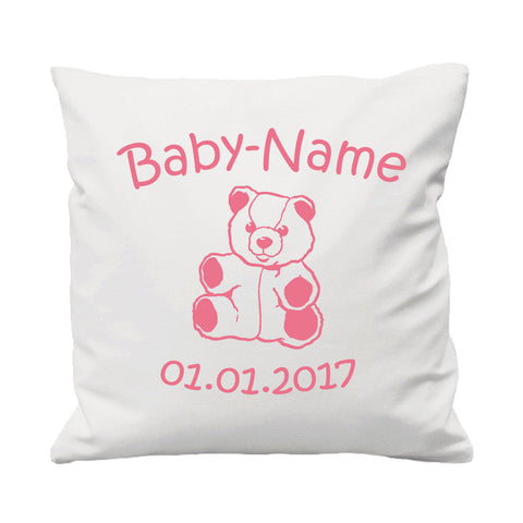 Baby Teddy Bear - Cushion Cover - 41 x 41 cm - Ai Printing