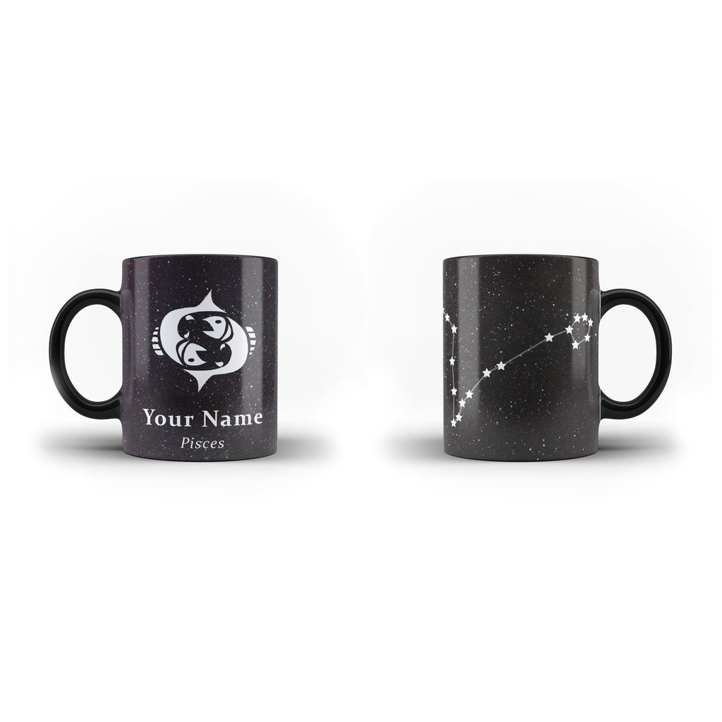 Zodiac Pisces - Personalised Mug - Magic - Ai Printing