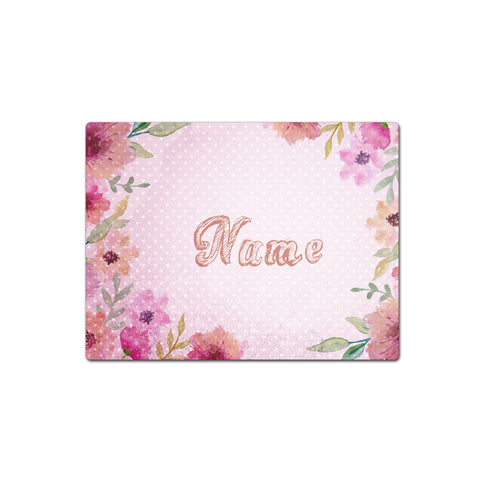 Pink Floral Watercolours - Placemat - Ai Printing