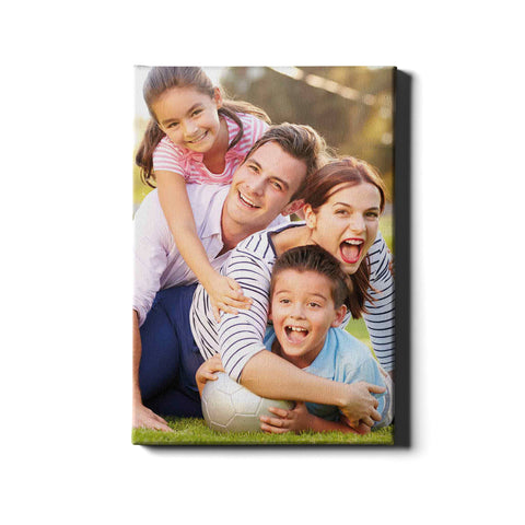 Single Panel Personalised Canvases - Portrait - Ai Printing