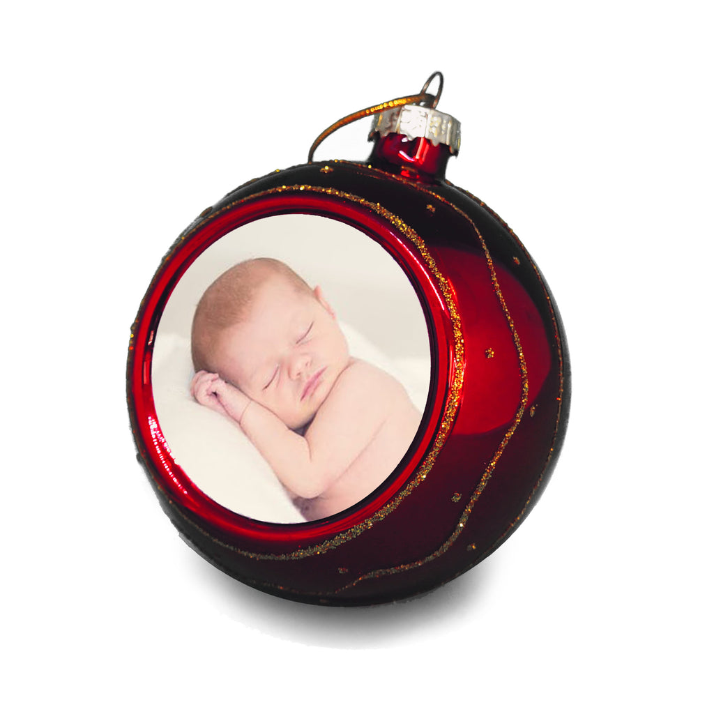 Unique Personalised Christmas Bauble - Ai Printing