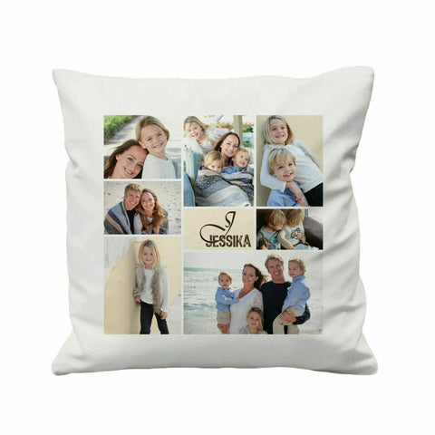Personalised Photo Cushion Cover - 41 x 41 cm - Ai Printing