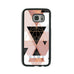 Geometric Copper & Black   - 2D Clip Case - Ai Printing