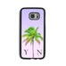 Lilac Sky & Green Palm Tree - 2D Clip Case - Ai Printing