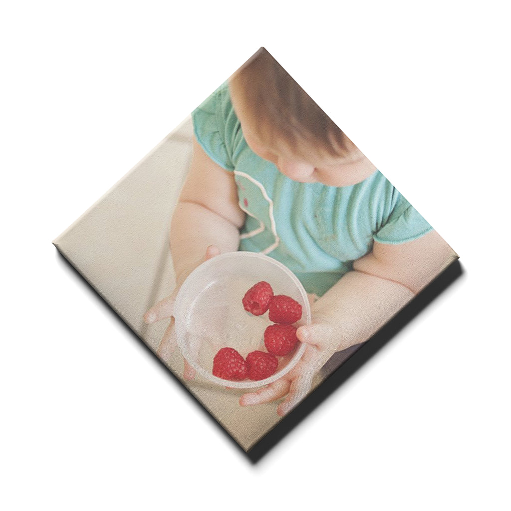 Single Panel Personalised Canvases - Square Diamond - Ai Printing