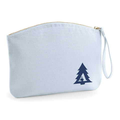 Christmas Tree Personalised Initial - Accessory Bag - Ai Printing
