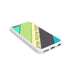 Green Blue Yellow Stripes   - 2D Clip Case - Ai Printing