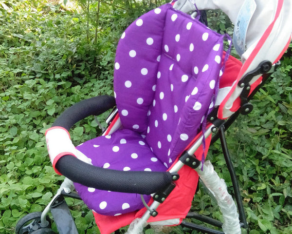 Patterned Stroller Seat Cushion Mat