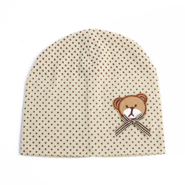 Infant Teddy Bear Beanie