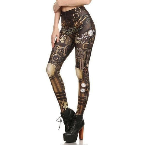 Ladies Hot Performance Body Armor Leggings - 5 Variants - FeetyWeety