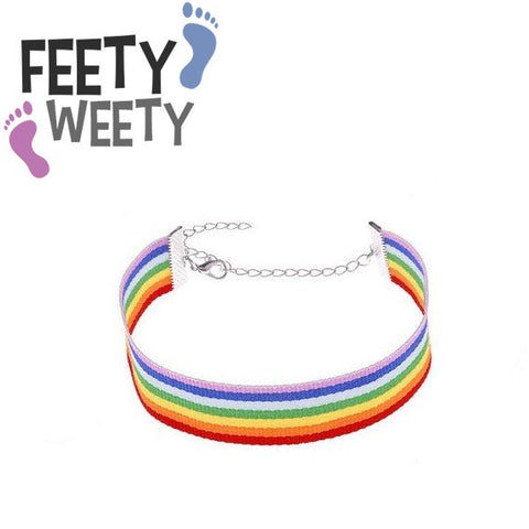 Pride Natural Colors Bravery Anklet - FeetyWeety