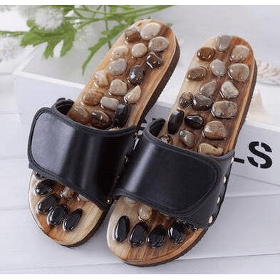 Acupressure Gemstone Sandals - FeetyWeety