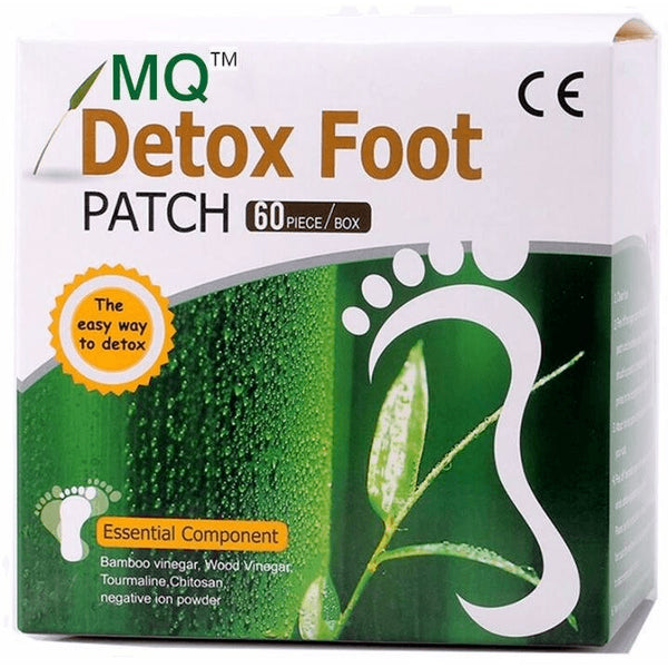 Detox Adhesive Natural Foot Patches - 120 pieces - FeetyWeety