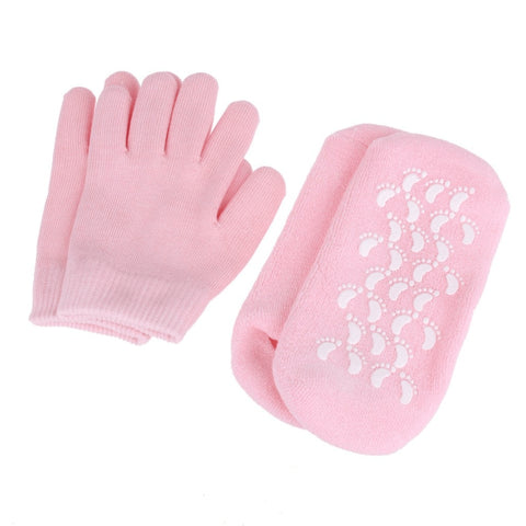 Moisturizing Gel Socks & Gloves Set - FeetyWeety