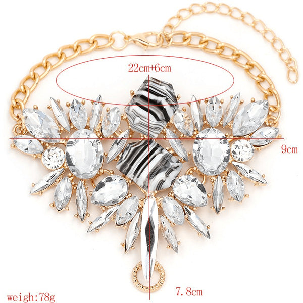 Only The Brave - Austrian Crystal Studded Spectrum Anklets - FeetyWeety
