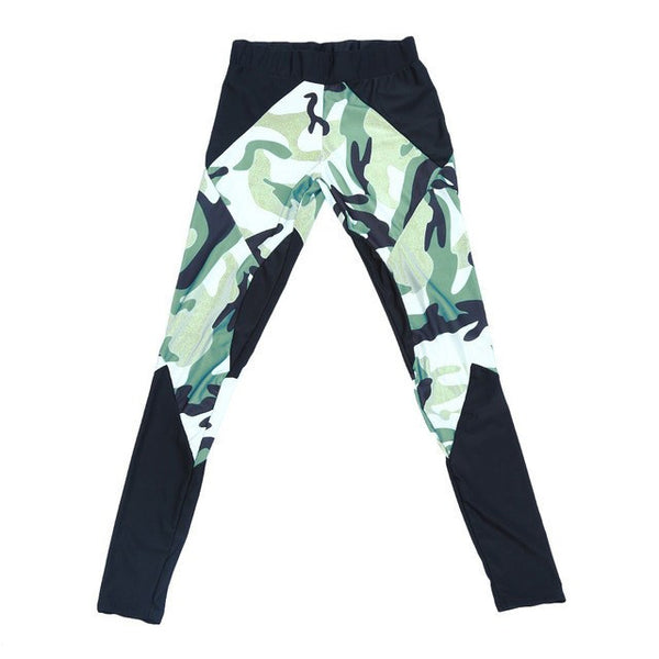 Ladies' Push Up Body Sculpting Camo Leggings - 3 Variants - FeetyWeety