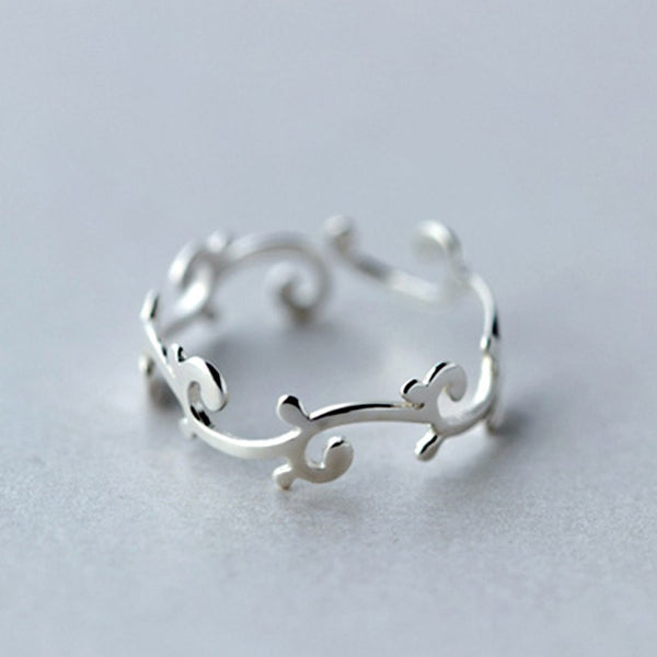 Sterling Silver Elvish Adjustable Toe Ring - 925 - FeetyWeety