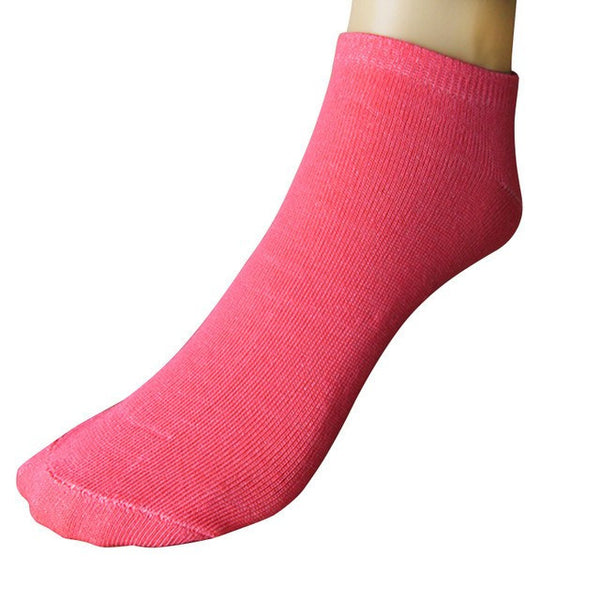 Ladies' Invisible Organic Cotton Ankle Socks - 11 Variants - FeetyWeety