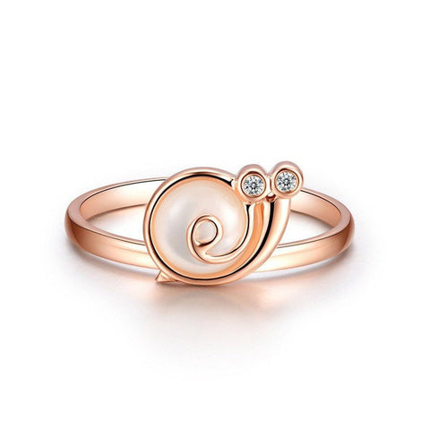 Rose Gold Plated Stainless Steel Smiling Speedy - FeetyWeety