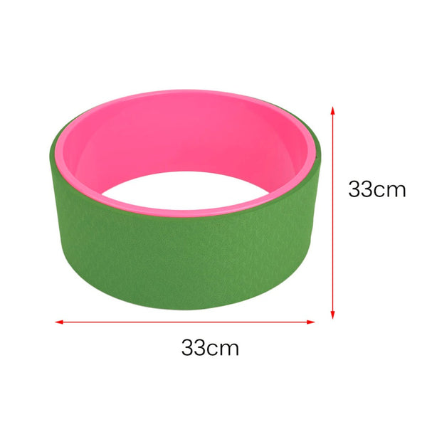 13 Inch Yoga Wheel Waist Shape