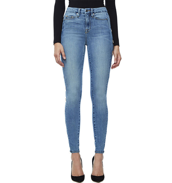 New Round Side Pencil Jeans