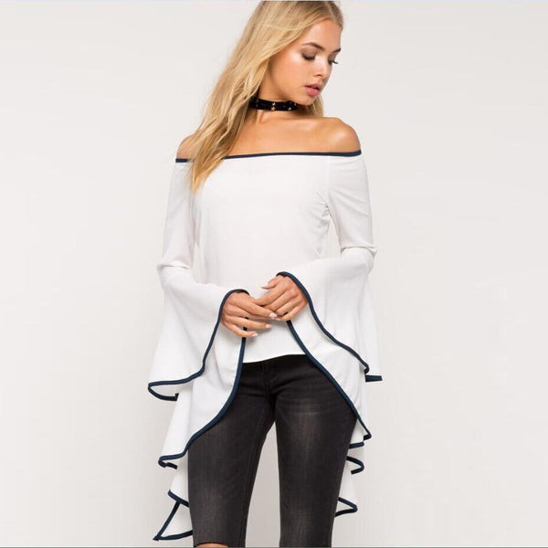 Own It Girl Boardwalk Off Shoulder Top