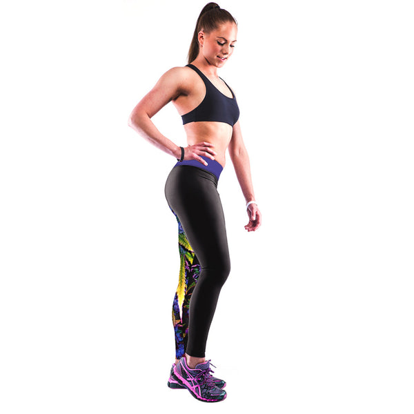 It's Your World Comic Print YOGA Workout Pants