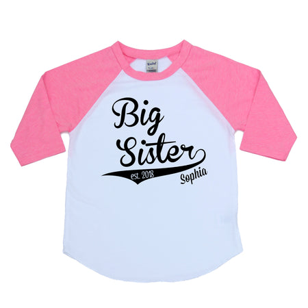 Big Brother Raglan  |  Black Design