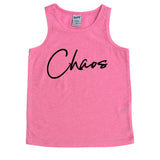 Chaos Kids Tank  |  Black Ink