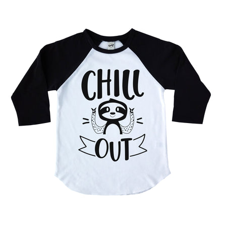Little Brother Raglan - Black Design